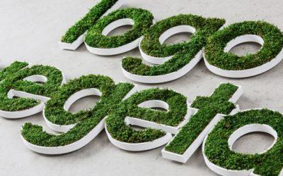 Voici Le Logo 3D Végétal…